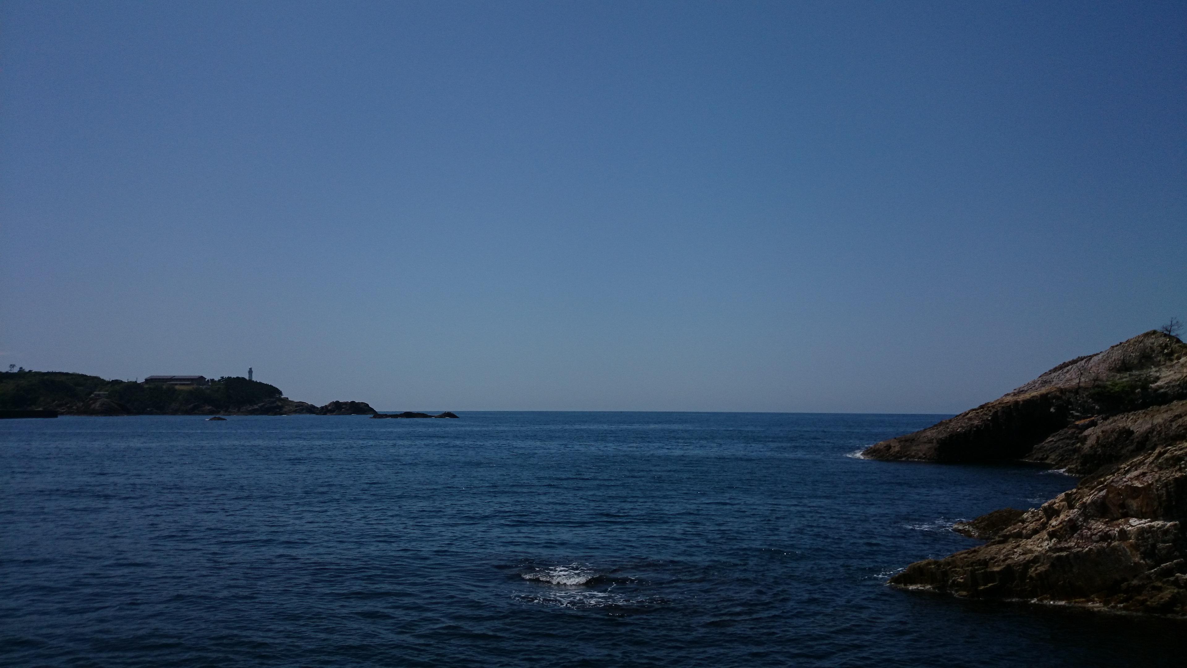 初夏の日本海 アオリイカと一騎打ち!